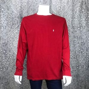 Polo Ralph Lauren Red Long Sleeve Thermal 2XL